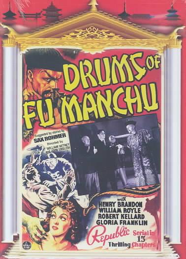 DRUMS OF FU MANCHU BY BRANDON,HENRY (DVD)